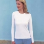 Lady-Fit Crew Neck T Long Sleeve